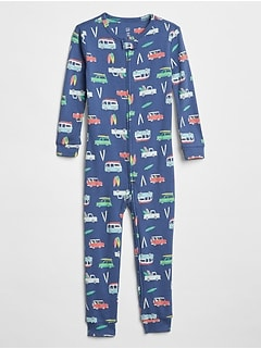 babyGap Surf Print Pajama One-Piece