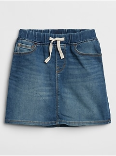 Kids Denim Skirt with Stretch