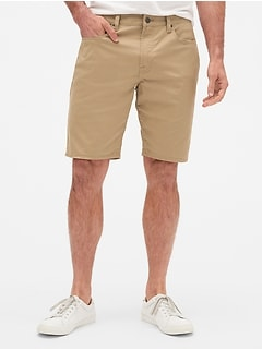 Twill Shorts with GapFlex