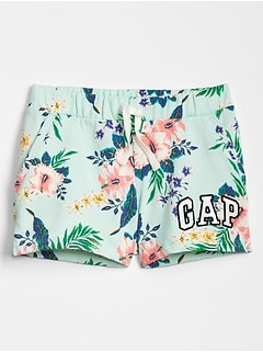 Kids Gap Logo Print Shorts