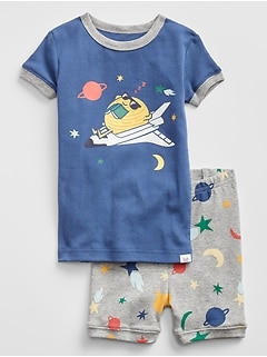 Space Short PJ Set