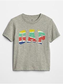 Toddler Short Sleeve Gap Logo Graphic T-Shirt