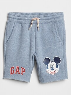 babyGap &#124 Disney Mickey Mouse Fleece Shorts