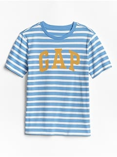 Kids Stripe Gap Logo T-Shirt In Jersey