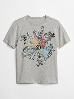 GapKids | Marvel© Short Sleeve Graphic T-Shirt