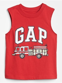 Toddler Logo Graphic Tank Top