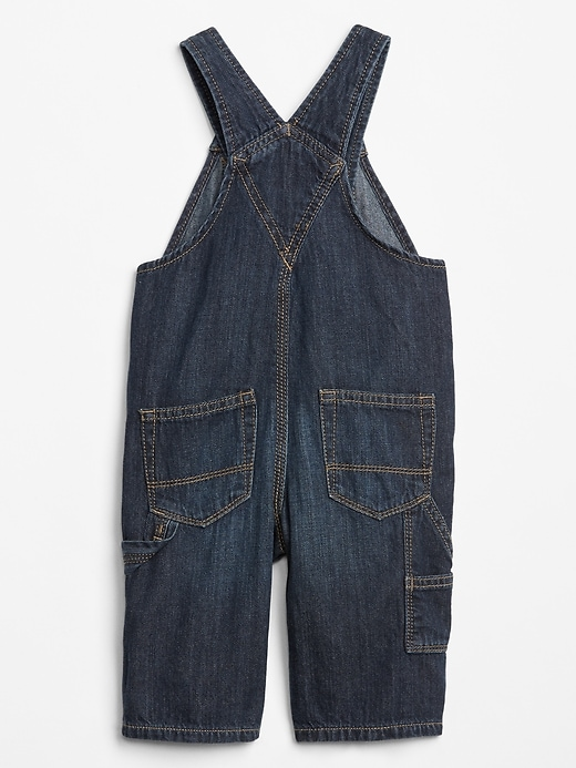 Baby Denim Overalls With Washwell&#153