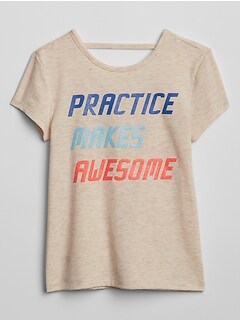 GapFit Kids Graphic T-Shirt