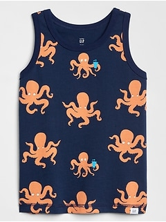 Toddler Print Tank Top