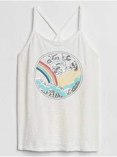 Kids Sequin Tank Top