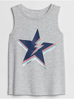 GapFit Kids Graphic Tank Top