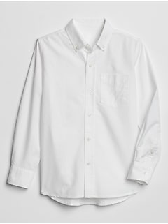Kids Uniform Oxford Shirt