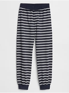 Kids Stripe Pull-On Joggers
