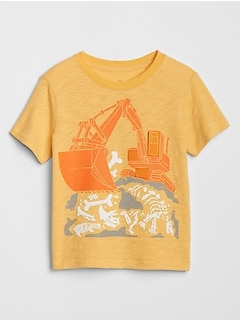 Toddler Interactive Graphic T-Shirt