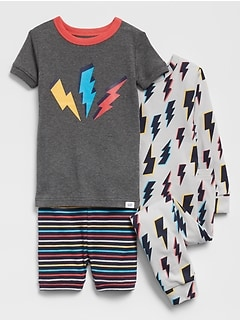 babyGap Lightning Bolt Pajama Set (4-Pack)