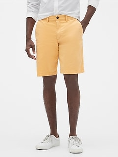 "10"" Lived-In Khaki Shorts with GapFlex"