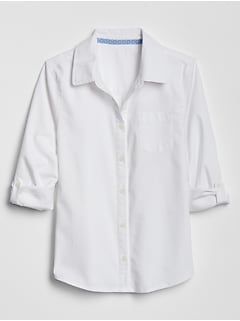 Kids Uniform Oxford Convertible Shirt