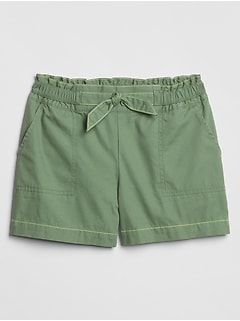 Kids Ruffle-Trim Shorts