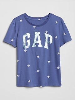 Kids Gap Logo Flippy T-Shirt
