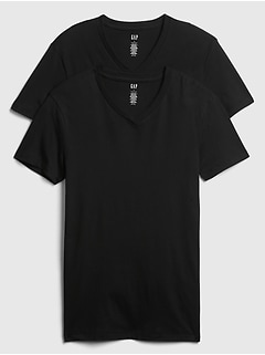 Factory V-neck tees (2-pack)