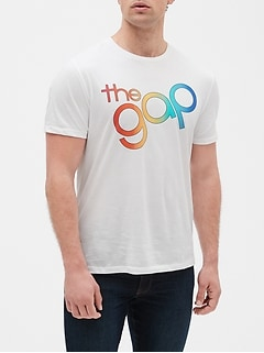 Gap + Pride Logo Short Sleeve T-Shirt