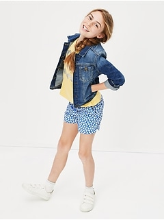 Kids Destructed denim jacket