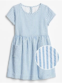 Toddler Print Pocket Dress