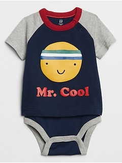 Baby Raglan Graphic Body Double