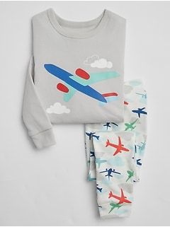 babyGap Airplane Pajama Set