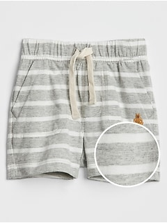 Baby Stripe Jersey Shorts
