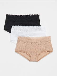 Lace Shorty (3-Pack)