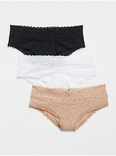 Lace Cheeky (3-Pack)
