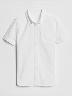 Kids Oxford Short Sleeve Shirt