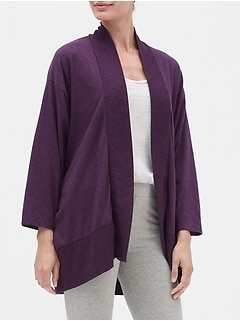Sleep Cardigan in Slub Jersey