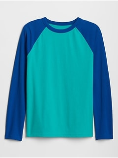 Kids Colorblock Raglan T-Shirt