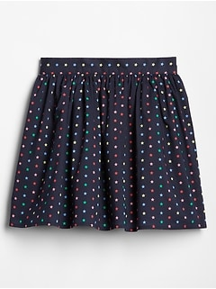 Kids Print Flippy Skirt