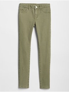 Kids Super Skinny Jeans in Color