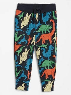 Toddler Print Pull-On Pants