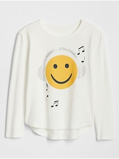 Kids Graphic Long Sleeve T-Shirt