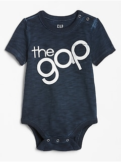 Baby Gap Logo Pocket Bodysuit