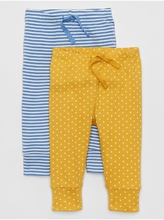 Baby Print Pull-On Pants (2-Pack)