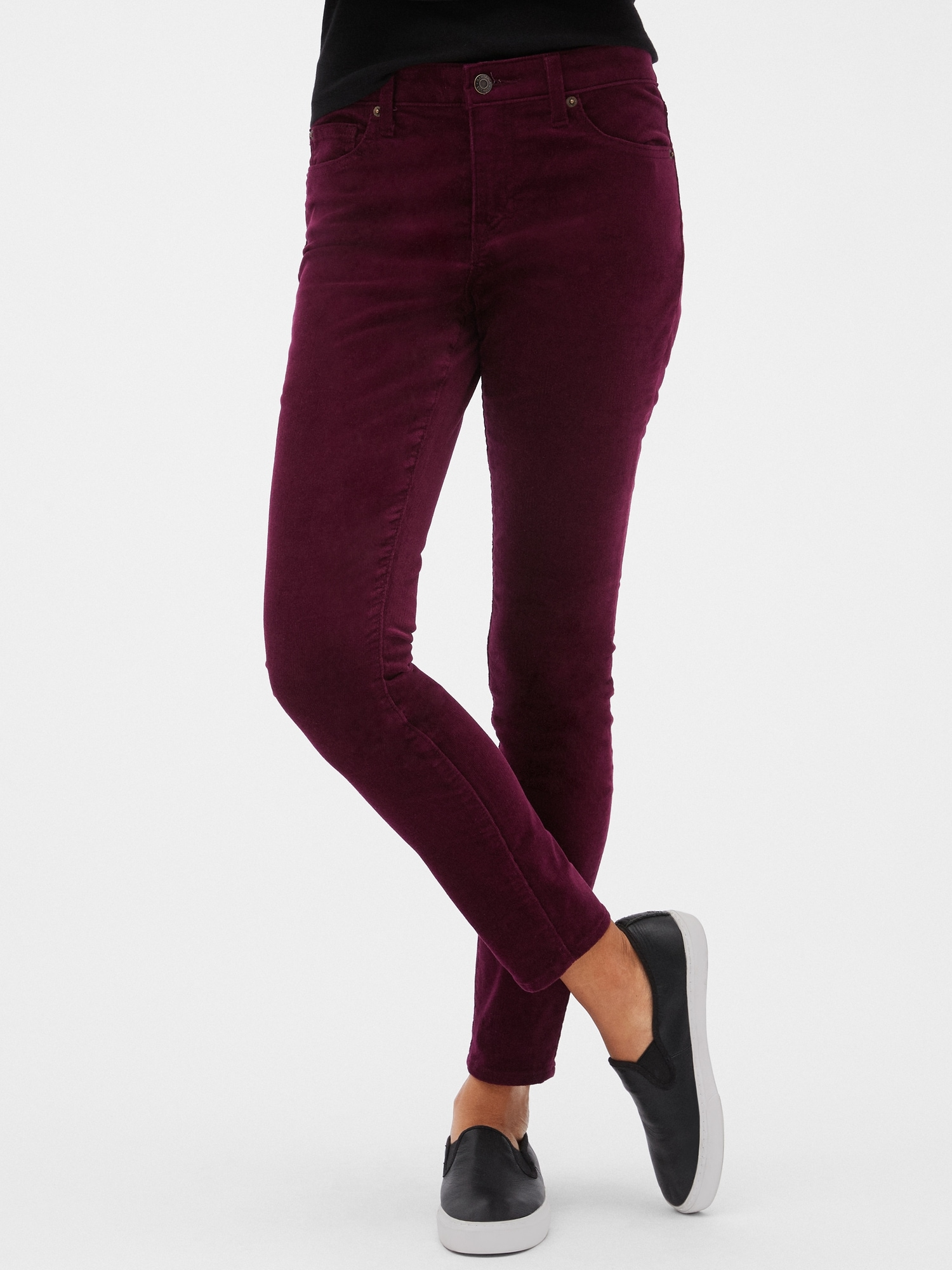 Mid Rise Legging Cords by Gap