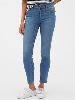 Mid Rise Cropped Favorite Jegging With Washwell™
