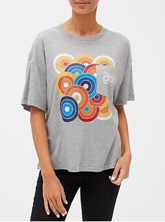 Gap 50th Anniversary Logo Graphic Pocket T-Shirt