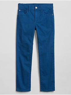 Kids Skinny Pants in Color