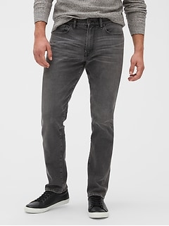 Mid Rise Jeans in Athletic Fit with GapFlex