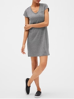 Short Sleeve Pocket T Dress