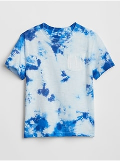 Toddler Gap Logo Tie-Dye Pocket T-Shirt