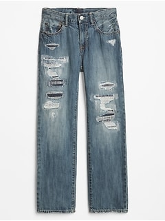 Kids Superdenim Destructed Original Jeans