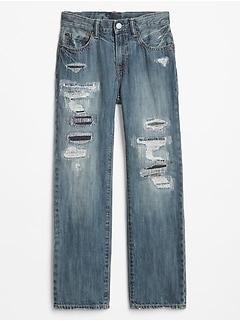 Kids Superdenim Destructed Original Jeans